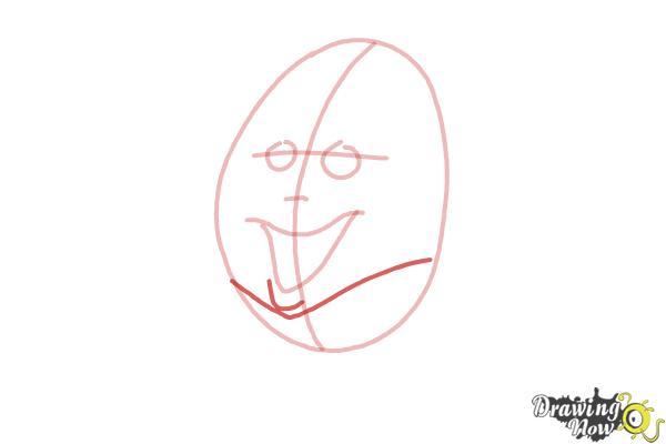 How to Draw Humpty Dumpty - Step 5