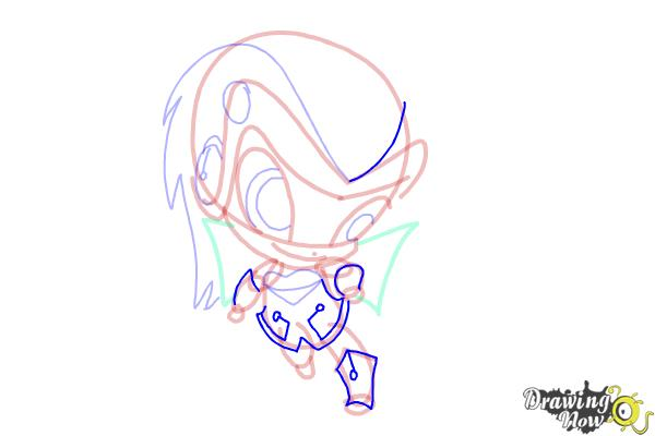 How to Draw Tecna'S Pixie, Digit from Winx - Step 10