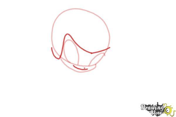 How to Draw Tecna'S Pixie, Digit from Winx - Step 3