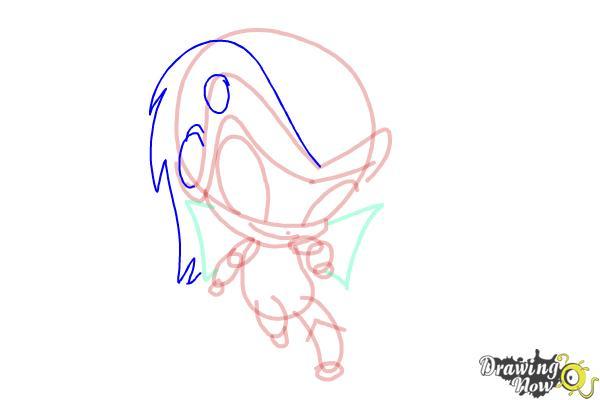 How to Draw Tecna'S Pixie, Digit from Winx - Step 8