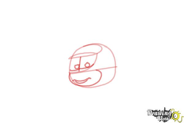 How to Draw Nick Loopin Lopez from Planes: Fire & Rescue - Step 3