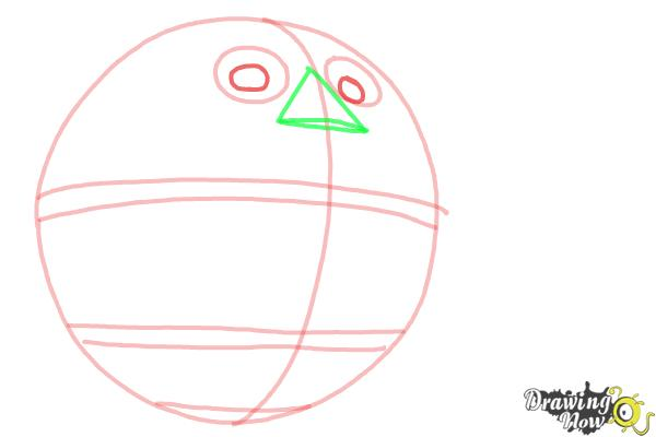 How to Draw Death Egg from Sonic - Step 3