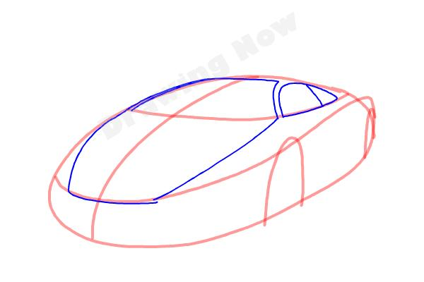 How to Draw a Cool Car - Step 4