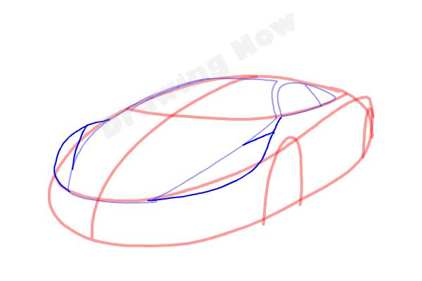 How to Draw a Cool Car - Step 5