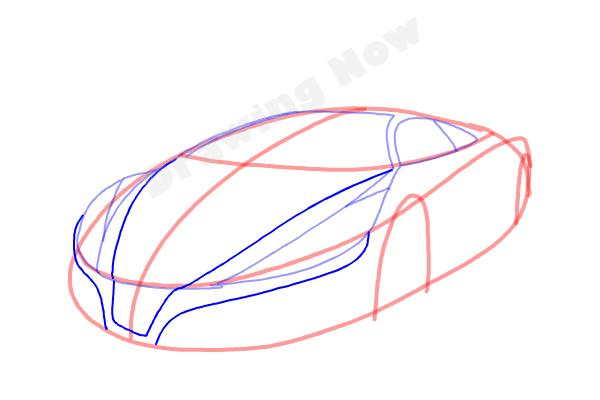 How to Draw a Cool Car - Step 6