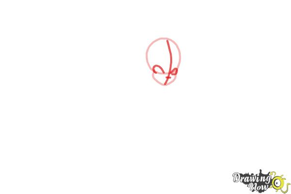 How to Draw Aisha, Fairy Of Waves from Winx - Step 2