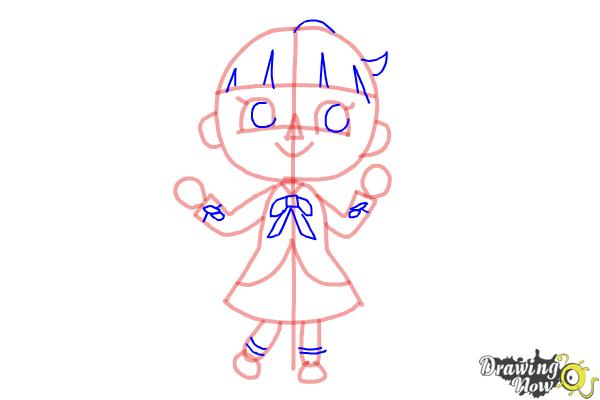 How To Draw A Girl From Animal Crossing Drawingnow