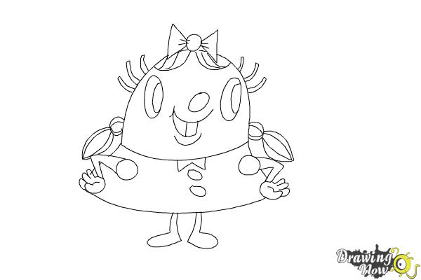 How to Draw Tiffi from Candy Crush
