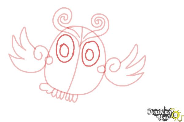 How to Draw Odus from Candy Crush - Step 9