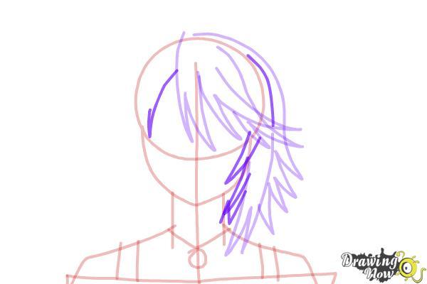 How to Draw Mizore Shirayuki from