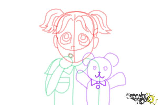 How to Draw Brianna Maxwell from Dork Diaries - Step 13