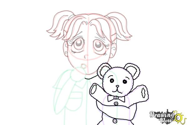 How to Draw Brianna Maxwell from Dork Diaries - Step 16