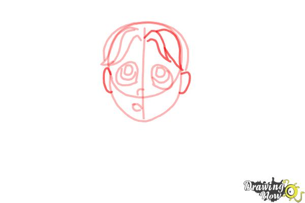 How to Draw Brianna Maxwell from Dork Diaries - Step 6
