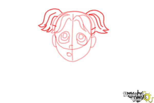 How to Draw Brianna Maxwell from Dork Diaries - Step 7