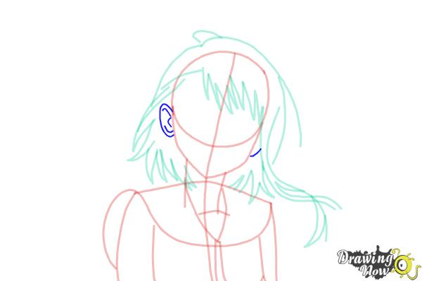 How to Draw Kosaki Onodera from Nisekoi: False Love - Step 10