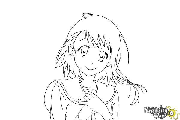 How to Draw Kosaki Onodera from Nisekoi: False Love - Step 15