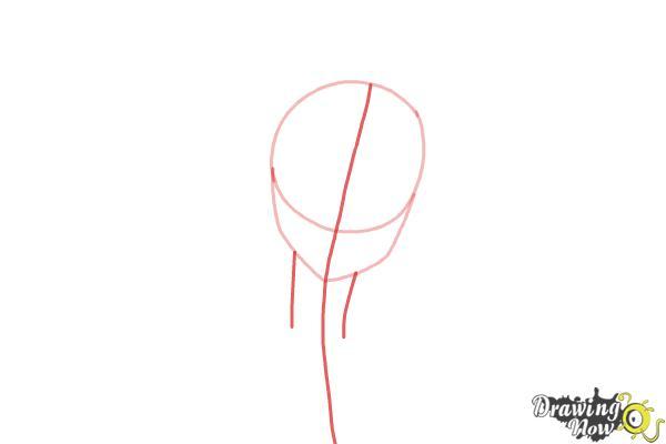 How to Draw Kosaki Onodera from Nisekoi: False Love - Step 2