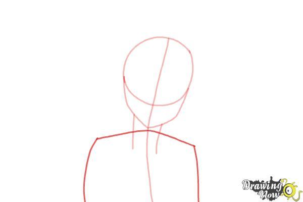 How to Draw Kosaki Onodera from Nisekoi: False Love - Step 3