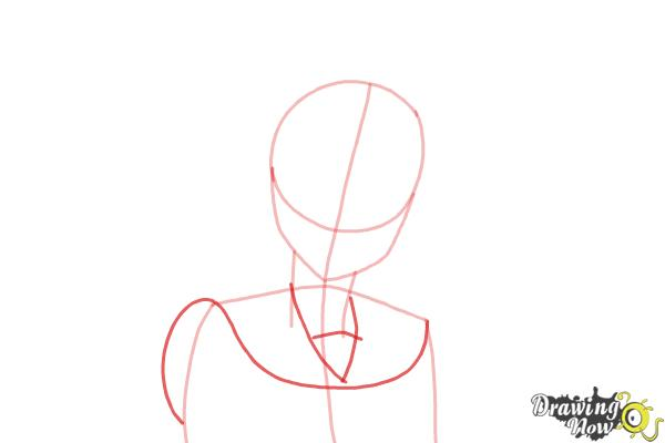 How to Draw Kosaki Onodera from Nisekoi: False Love - Step 4