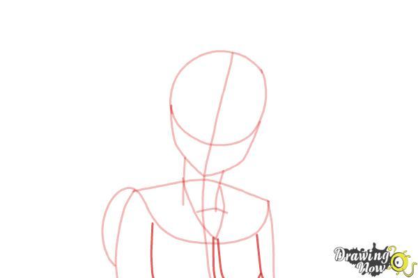 How to Draw Kosaki Onodera from Nisekoi: False Love - Step 5