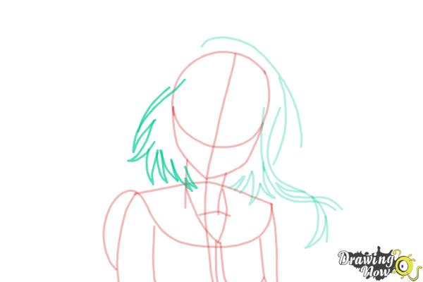 How to Draw Kosaki Onodera from Nisekoi: False Love - Step 8