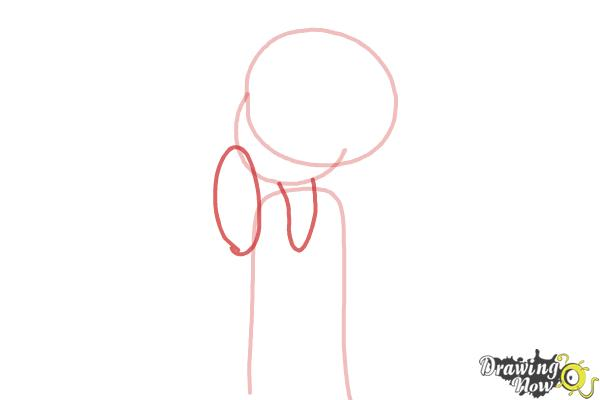 How to Draw Chloe Christina Garcia from Dork Diaries - Step 3