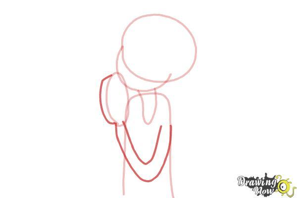 How to Draw Chloe Christina Garcia from Dork Diaries - Step 4