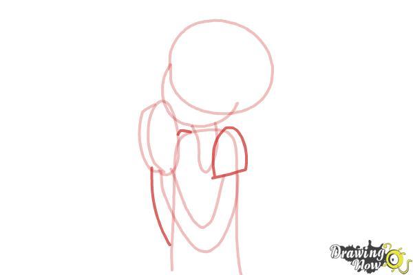 How to Draw Chloe Christina Garcia from Dork Diaries - Step 5