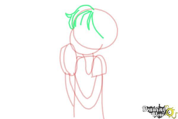 How to Draw Chloe Christina Garcia from Dork Diaries - Step 6
