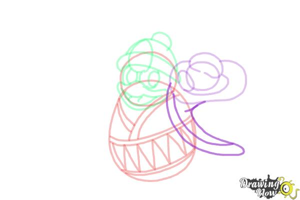 How to Draw King Dedede from Kirby - Step 10