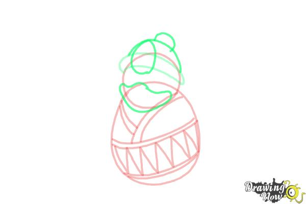 How to Draw King Dedede from Kirby - Step 6