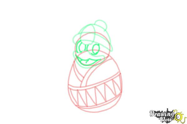 How to Draw King Dedede from Kirby - Step 7
