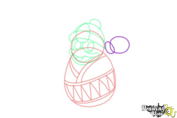How to Draw King Dedede from Kirby - Step 8