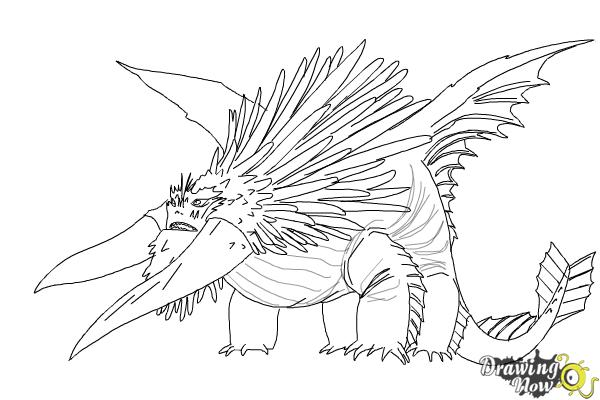 How to Draw Bewilderbeast from How to Train Your Dragon 2 ...