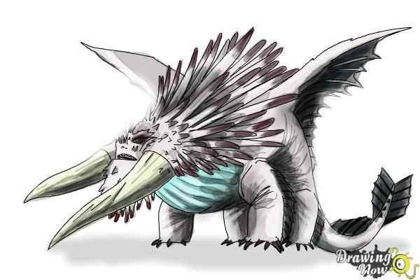 How to draw bewilderbeast from how to train your dragon 2 drawingnow how to draw bewilderbeast from how to train your dragon 2 step 11 ccuart Images