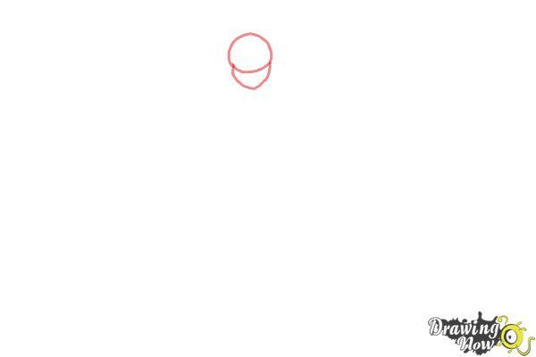 How to Draw Cure Happy, Hoshizora Miyuki from Smile Pretty Cure! - Step 1