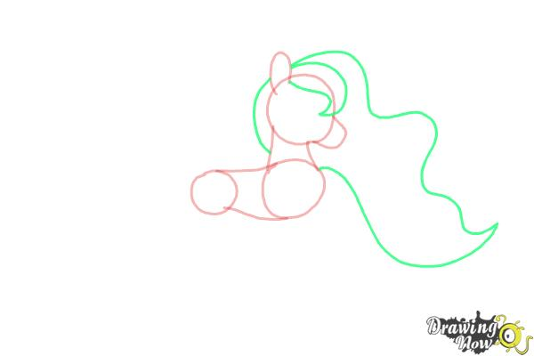 How to Draw Princess Luna from My Little Pony Friendship Is Magic - Step 5