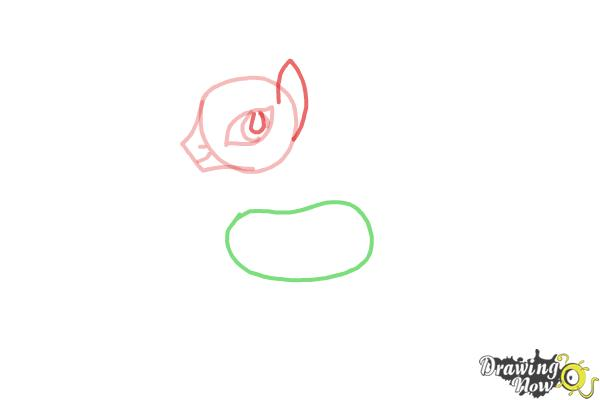 How to Draw Zecora from My Little Pony Friendship Is Magic - Step 4