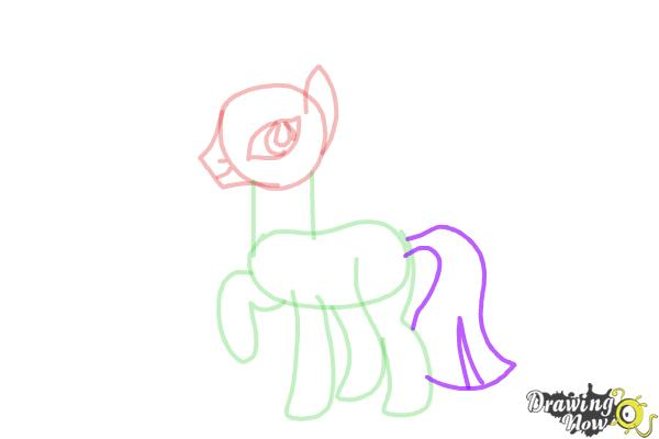 How to Draw Zecora from My Little Pony Friendship Is Magic - Step 7