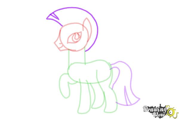 How to Draw Zecora from My Little Pony Friendship Is Magic - Step 8