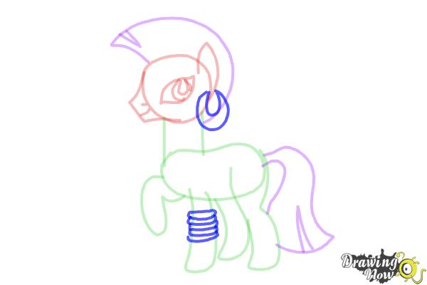 How to Draw Zecora from My Little Pony Friendship Is Magic - Step 9