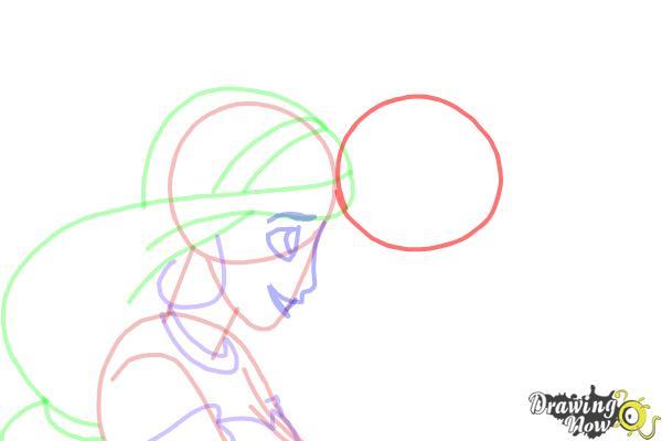 Abu Aladdin Kleurplaat How To Draw Jasmine And Aladdin Drawingnow