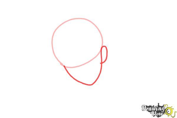 How to Draw Reiji Sakamaki Diabolik Lovers - Step 2
