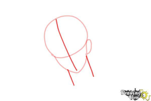 How to Draw Reiji Sakamaki Diabolik Lovers - Step 3