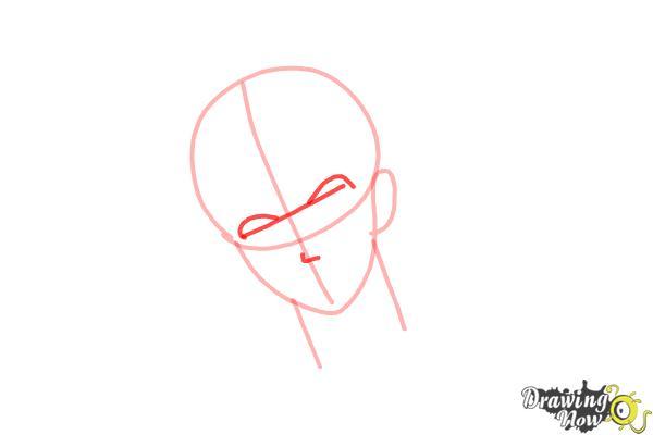 How to Draw Reiji Sakamaki Diabolik Lovers - Step 4