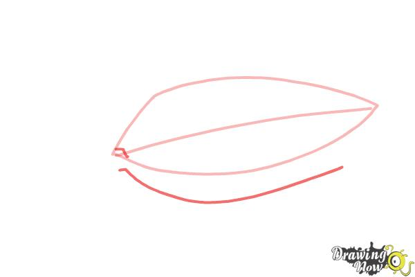 How to Draw an Eye Easy - Step 3