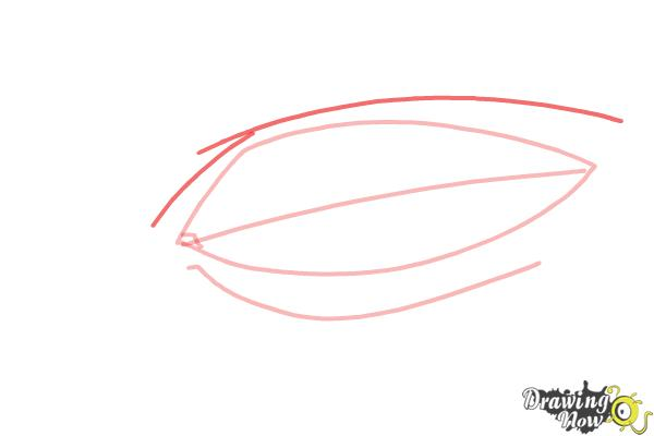 How to Draw an Eye Easy - Step 4