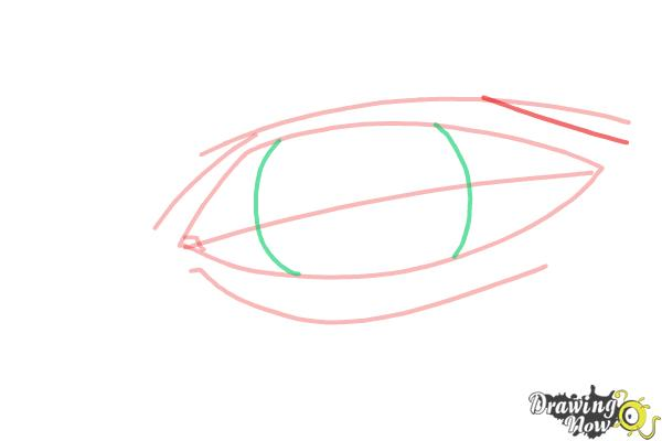How to Draw an Eye Easy - Step 5