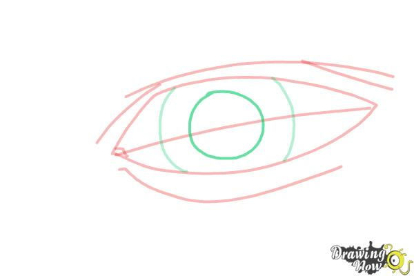 How to Draw an Eye Easy - Step 6