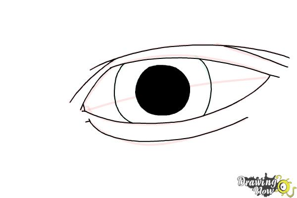 How to Draw an Eye Easy - Step 7
